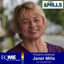 Janet Mills for Governor